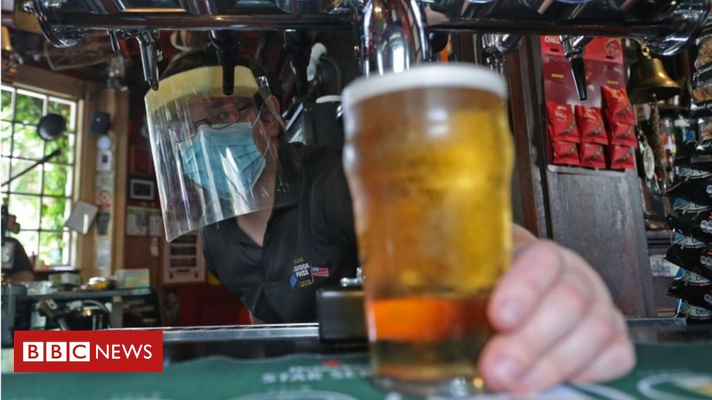 Covid: Group of four rule for Wales' pubs after lockdown