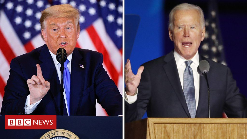 US Election 2020: Tense wait as US election winner remains unclear