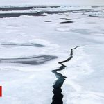 Then and now: Arctic sea-ice feeling the heat